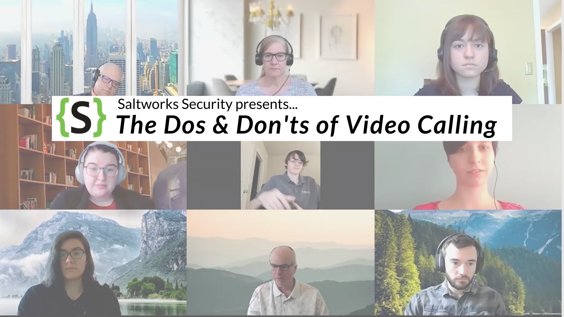 The 9 Dos and Don'ts of Video Call Etiquette