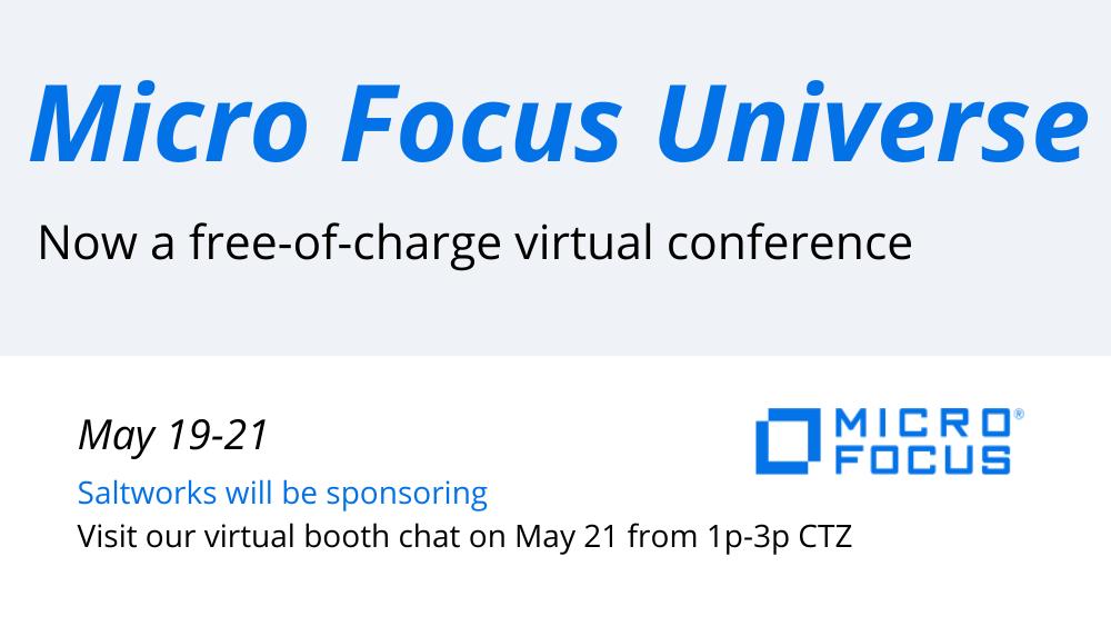 Micro Focus Virtual Universe