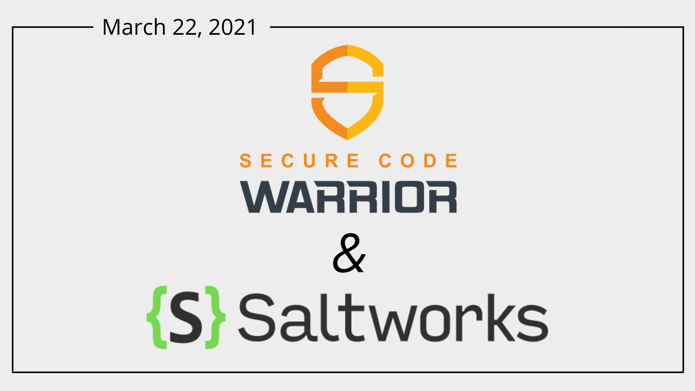 New Partnership with Secure Code Warrior