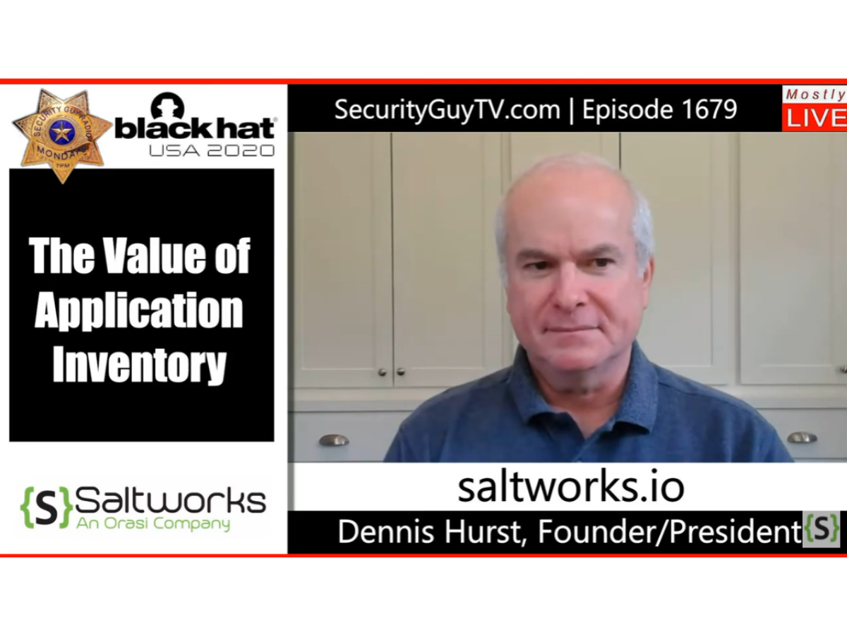 Application Inventory (with Chuck Harold of Security Guy TV)